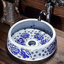 YYZD® waschbecken Keramik Kunst Waschbecken