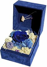 Yyzhx Fashion Immortal Flower Rose Geschenk-Box