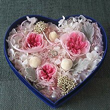 Yyzhx Immortal Flower Rose hochwertige Samtbox