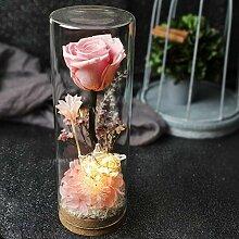 Yyzhx Immortal Rose Glas-Anhänger Blumen