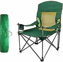 YYZZ Outdoor-Klappstuhl, Camping-Stuhl, tragbar,
