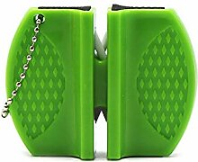 YYZZKüchenschärfer mit zwei Schlitzen, tragbarer