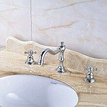 YZDD® Wasserhahn Gefäßauslauf Chrom polnisch