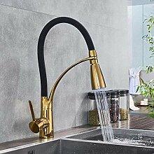 YZDD® Wasserhahn Küchenarmatur LED Licht