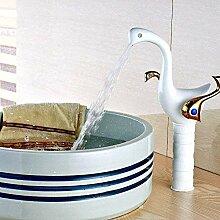 YZDD® Wasserhahn Malerei Massiv Messing Bad
