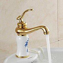 YZDD® Wasserhahn Mode Messing Waschbecken