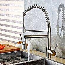 YZDD® Wasserhahn Nickel Küchenarmatur Led