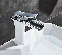 YZDMC Bad Waschbecken Wasserhahn heiß kalt Mixer