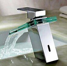 YZDMC Poliertes Badezimmer Wasserfall Gefäß