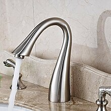 YZDMC Schwanenhals Bad gebürstet Waschbecken