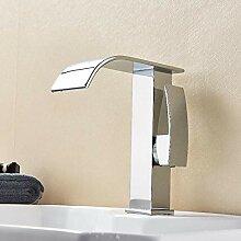 YZDMC Zeitgenössische Chrom Wasserfall Badezimmer