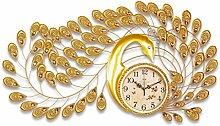 YZGZ DFHHG ® Pfau Uhr, Wohnzimmer Kreative