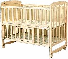 Yzibei Babybett Holz Baby Schaukel Krippe