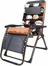 YZjk Klappstuhl Schwerelosigkeit Lounge Chair