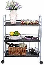 YZjk Küchenregal für Mikrowellenherde 3-stufiges