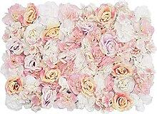 YZJL Kunstblumen &-Pflanzen 3 Stück Künstliche
