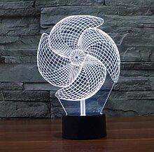 YZWD Illusion Nachtlicht 3D Lampe Geschenke