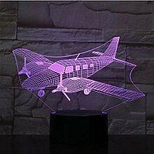 YZWD Illusion Nachtlicht Illusion Lamp 3D Lampe