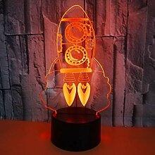YZWD Nachtlicht Optische Täuschung Lampe