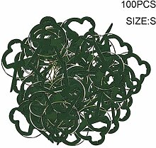 Z-LIANG 100PCS Pflanzen Unterstützung Clips
