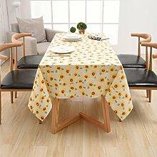 Z&N Europäisch hochwertig Leinen Tischdecken Staubschutz Kaffeetisch universelle Tischdecken Klavierdeckel Hausdekoration MehrzweckhandtuchA120*160cm