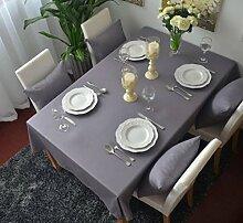 Z&N Europäisch luxuriös baumwolle multifunktional Tischdecken Staubschutztücher geeignet für Nachttische Mikrowellenherde Computertische Sofa-Handtücher TischdeckenA140*160cm