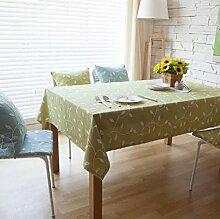 Z&N Europäische Baumwolle Stickerei Tischtücher Couchtisch Tuch geeignet für alle Arten von Haushaltsgegenständen Deckel Handtuch Tischdecke Staub wischen saubere TuchC 60*60cm