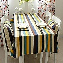 Z&N Europäischer Stil Baumwolle Tischtücher Couchtisch Tuch Staubschutz Küche Esstisch Tischdecke Lebensdekoration TischdeckeA140*220cm