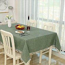 Z&N Hochwertige Bettwäsche Tischtücher Couchtisch Tuch Nachttischtücher eine Vielzahl von Farbgrößen der Tischdecken multifunktionale Heimtextilien TischdeckeA140*200cm