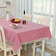 Z&N Hochwertige Bettwäsche Tischtücher Couchtisch Tuch Nachttischtücher eine Vielzahl von Farbgrößen der Tischdecken multifunktionale Heimtextilien TischdeckeE140*140cm