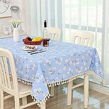 Z&N Hochwertige Bettwäsche Tischtücher Couchtisch Tuch Nachttischtücher eine Vielzahl von Farbgrößen der Tischdecken multifunktionale Heimtextilien TischdeckeC140*140cm