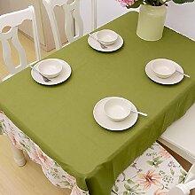 Z&N Luxus, Baumwolle, Spitzenspitze, Tisch Tischdecke, geeignet für Hausdekoration, Mehrzweck-Restaurant, Café, Hotel, Party Tischdecke,B,140*180cm
