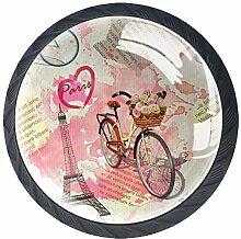 Z&Q Küchenschrank Knöpfe Fahrradturm