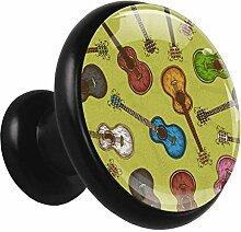 Z&Q Küchenschrank Knöpfe Farbgitarre