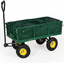 Z@SS Hochleistungs-Gartenwagen-Schubkarre mit