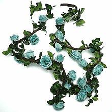 Z-W Blumenrebe (2 X 220 cm) Künstliche Garland
