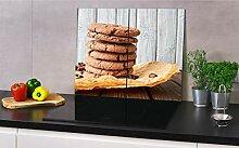 Z4L Herdabdeckplatte aus Glas für Küche 2X(30 cm