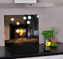 Z4L Herdabdeckplatte aus Glas für Küche (60 cm x
