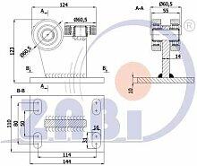 ZAB-S Laufwagen (Code:3M-70M) Laufrolle