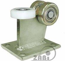 ZAB-S Laufwagen (Code:3M-80/4) Laufrolle Profilmaße:80x80x4 Gartentor Schiebetor Rolltor (3M-80/4)