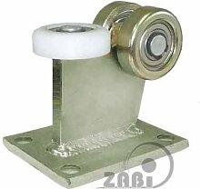 ZAB-S Laufwagen (code:3M-80) Laufrolle Profilmaße:80x80x5 Gartentor Schiebetor Rolltor (3M-80)