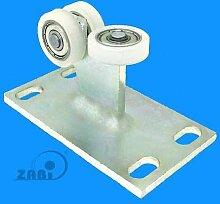 ZAB-S Laufwagen (Code:3T-30) Laufrolle Profilmaße:30x30x2 Gartentor Schiebetor Rolltor (3T-30)