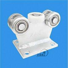 ZAB-S Laufwagen (Code:5M-50/55) Laufrolle Profilmaße:50x55x2,5 Gartentor Schiebetor Rolltor (5M-50/55)
