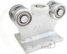 ZAB-S Laufwagen (Code:5M-70) Laufrolle Profilmaße:70x70x4 Gartentor Schiebetor Rolltor (5M-70)