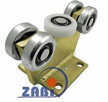 ZAB-S Laufwagen (Code:5M-70M) Laufrolle Profilmaße:70x70x4 Gartentor Schiebetor Rolltor (5M-70M)