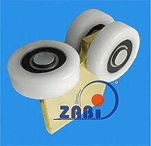 ZAB-S Laufwagen (Code:G-3T-80/4) Laufrolle Profilmaße:80x80x4 Gartentor Schiebetor Rolltor (G-3T-80/4)