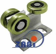 ZAB-S Laufwagen (Code:P-3M-60) Laufrolle Profilmaße:60x60x3,5 Gartentor Schiebetor Rollto (P-3M-60)