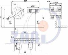ZAB-S Laufwagen (Code:P-3T-50/55) Laufrolle