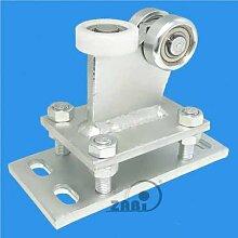 ZAB-S Laufwagen (Code:R-3M-50) Laufrolle Profilmaße:50x50x3 Gartentor Schiebetor Rolltor (R-3M-50)
