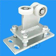 ZAB-S Laufwagen (Code:R-3T-50) Laufrolle Profilmaße:50x50x3 Gartentor Schiebetor Rolltor (R-3T-50)